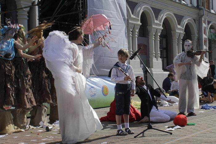 Выступление этнического театра. Фото: Николай Карпов/Великая Эпоха (TheEpochTimes)