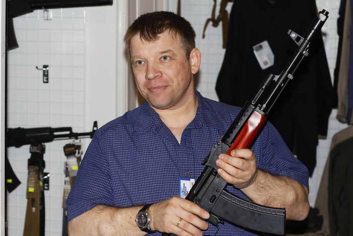 Холодное оружие для охоты. Фото: Николай Карпов/Великая Эпоха (The Epoch Times)