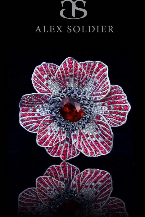 «Рубиновый цветок». Алекс Солджер. Фото предоставлено Алексом Солджером
