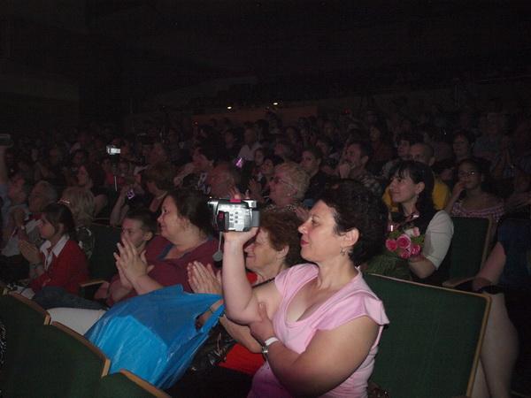 Зрители представления