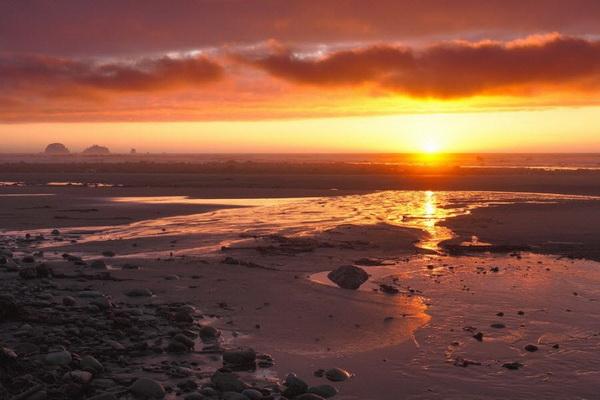 Пляж Озетт в Национальном парке Олимпик, штат Вашингтон. Фото: Джейсон Сэмпсон