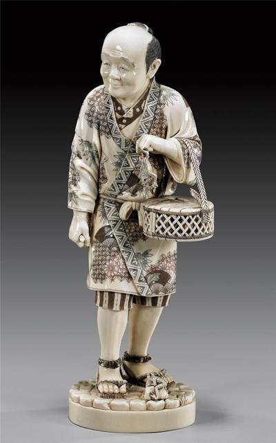 Японское декоративно-прикладное искусство. Статуэтки окимоно.  Фото: animalworld.com.ua