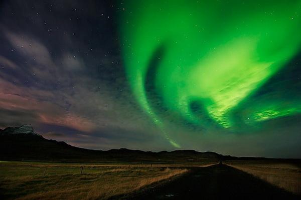 Северное сияние. Фото: Orvar Atli Юorgeirsson