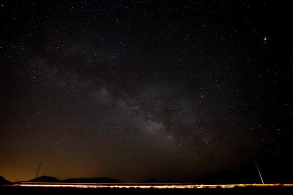 Ночное небо над Аризоной. Фото: Джейсон Сэмпсон
