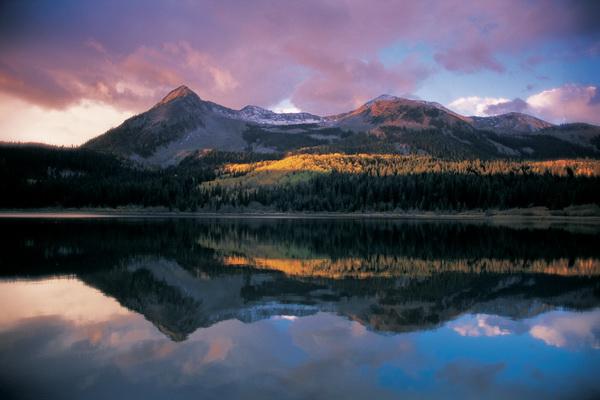 Затерянное озеро, национальный заповедник Гаррисон, штат Колорадо. Фото: Jake Rajs