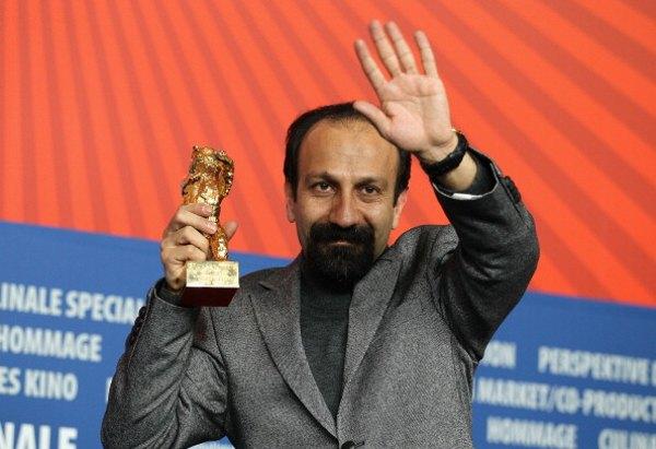 Иранский режиссер Асгар Фархади  получил«Золотого  медведя» за лучший фильм. Фото: Andreas Rentz/Getty Images