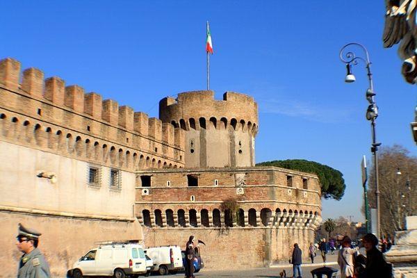 Замок Святого Ангела (Castel SantAngelo) Рим. Фото: Сима Петрова/Великая Эпоха (The Epoch Times)