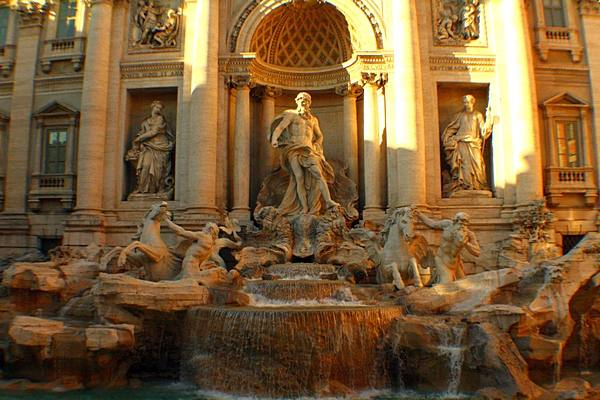 Фонтан Треви (Fontana di Trevi) Рим.  Фото: Сима Петрова/Великая Эпоха (The Epoch Times)