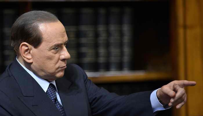 Италия.  Сильвио Берлускони. Фото: Filippo Monteforte/AFP/Getty Images