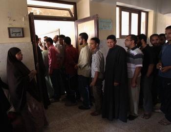 Египет. Президентские выборы. Фото: John Moore/Getty Images News