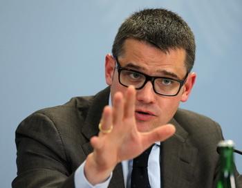 Министр внутренних дел земли Гессен Борис Райн. Фото: Boris Streubel/Bongarts/Getty Images