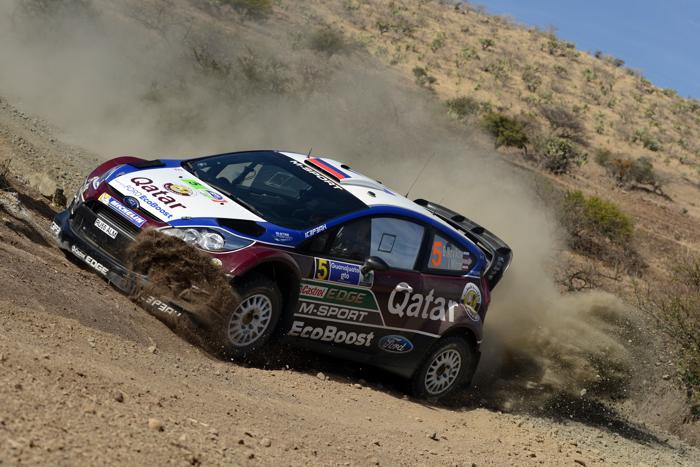 Евгений Новиков на «Форде» в ралли Мексики WRC-2013. Фото: Massimo Bettiol/Getty Images
