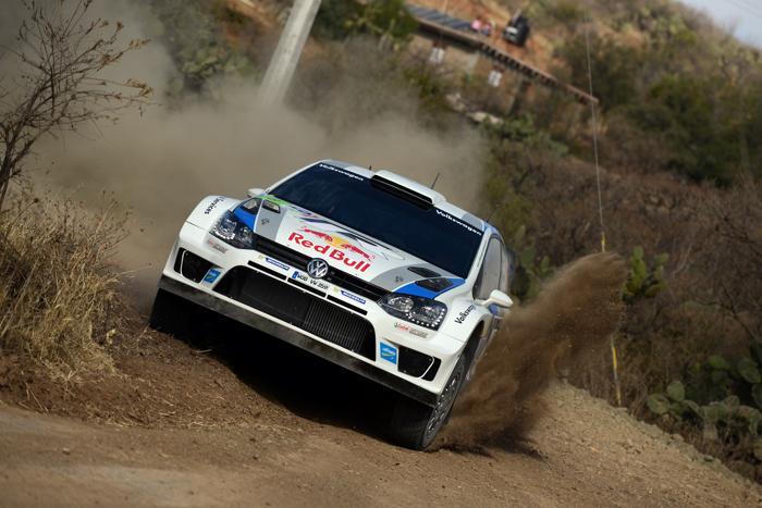 Себастьен Ожье в ралли Мексики WRC-2013. Фото: Massimo Bettiol/Getty Images