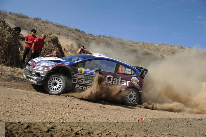 Тьерри Невиль в ралли Мексики WRC-2013. Фото: Massimo Bettiol/Getty Images