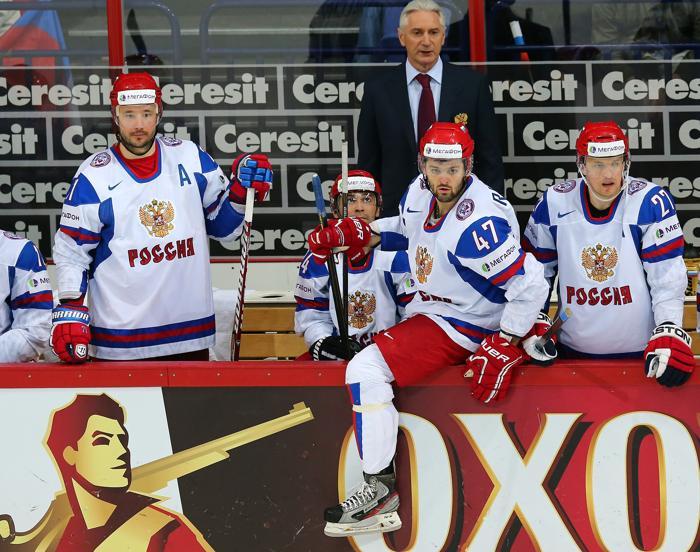 Российская сборная по хоккею победой завершила групповой этап ЧМ. Фото: Martin Rose/Bongarts/Getty Images