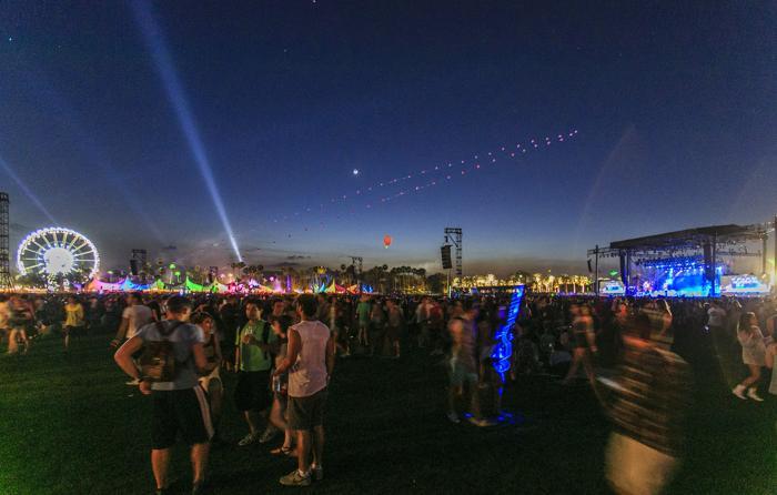 Фестиваль независимой музыки Coachella прошёл в Лос-Анджелесе. Фото: Rich Polk/Getty Images for Coachella