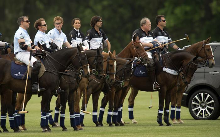 Принц Гарри принял участие в турнире поло в США. Фото: DON EMMERT/AFP/Getty Images