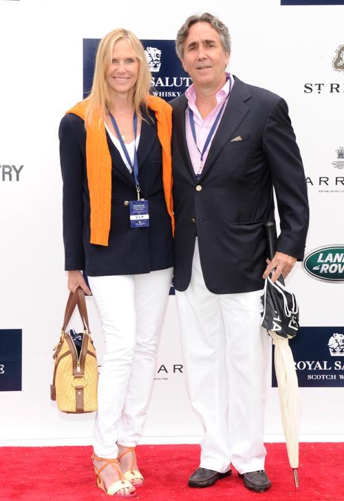 Сьюзен и Джим Даффи на благотворительном турнире по поло с участием принца Гарри в Гринвиче. Фото: Jamie McCarthy/Getty Images