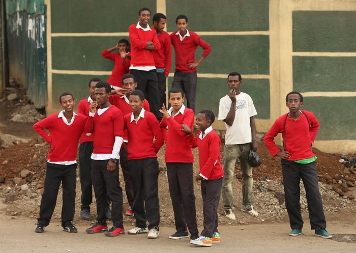 Повседневная жизнь в Эфиопии. Фото:  Sean Gallup/Getty Images