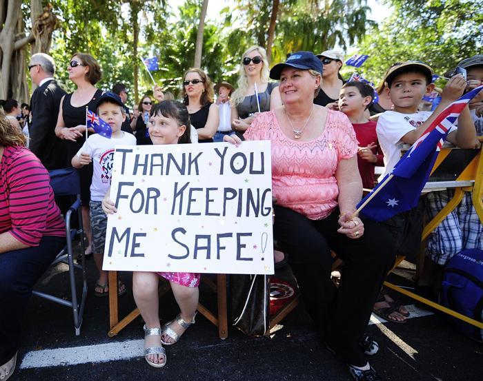 День защитника отечества отмечают в Австралии. Фото: Ian Hitchcock / Getty Images