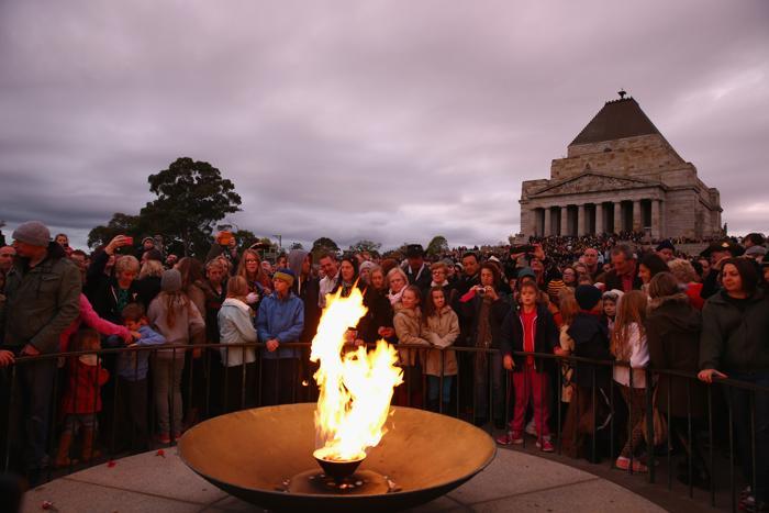 День защитника отечества отмечают в Австралии. Фото: Robert Cianflone/Getty Images