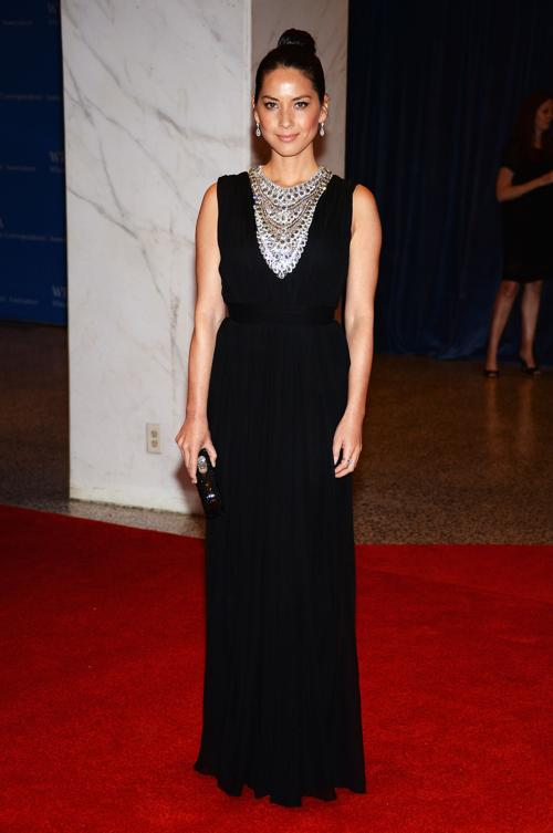 Актриса Оливия Манн посетила ужин корреспондентов в Белом доме. Фото: Dimitrios Kambouris/Getty Images