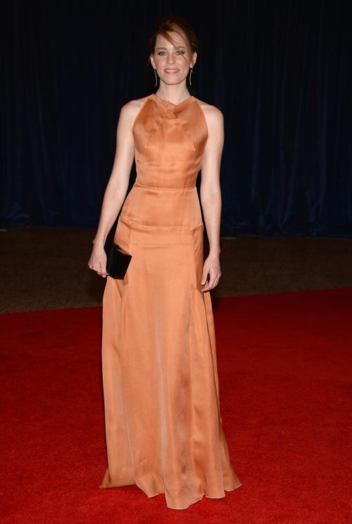 Актриса Элизабет Бэнкс посетила ужин корреспондентов в Белом доме. Фото: Dimitrios Kambouris/Getty Images