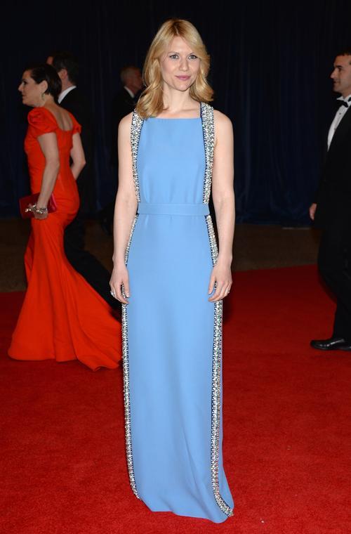 Актриса Клэр Дейнс посетила ужин корреспондентов в Белом доме. Фото: Dimitrios Kambouris/Getty Images