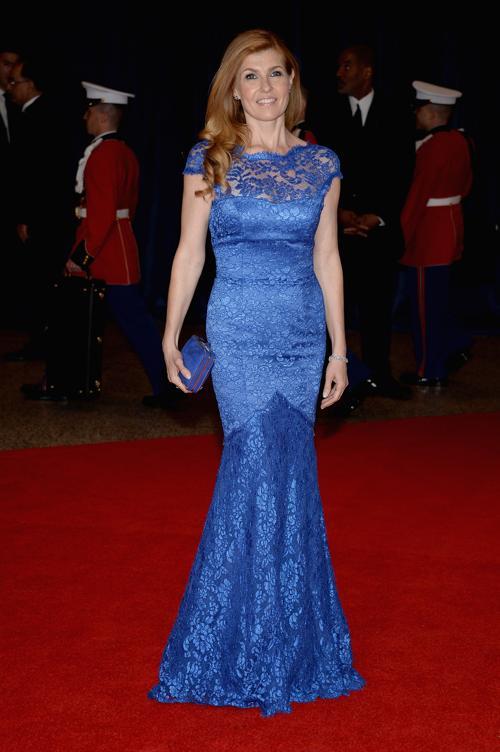 Актриса Конни Бриттон посетила ужин корреспондентов в Белом доме. Фото: Dimitrios Kambouris/Getty Images