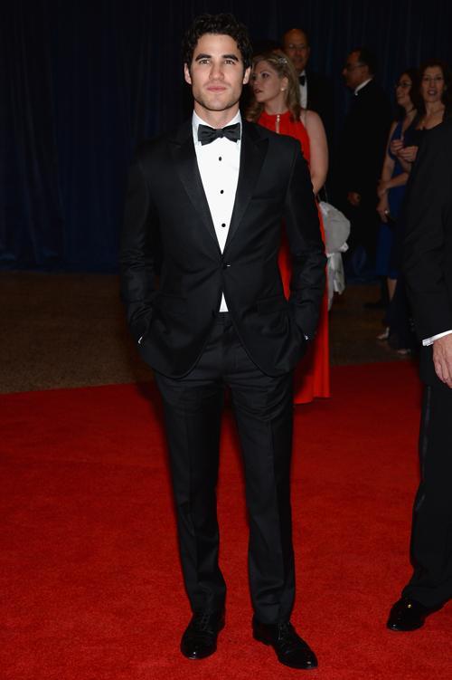 Актёр Даррен Накрест посетил ужин корреспондентов в Белом доме. Фото: Dimitrios Kambouris/Getty Images