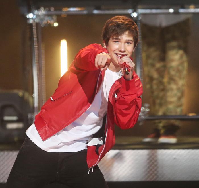 Остин Махоун на вручении премии Radio Disney Music Awards 2013. Фото: Frederick M. Brown/Getty Images