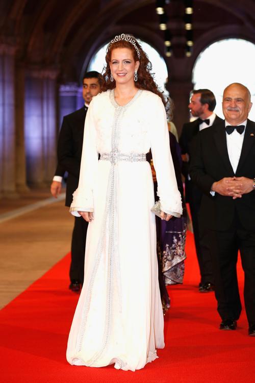 Марокканская принцесса Лалла Сальма на приёме в Нидерландах в честь передачи престола принцу Виллему-Александру. Фото: Michel Porro/Getty Images