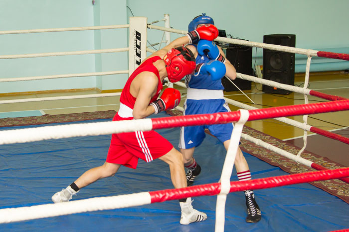 Чемпионат Республики по боксу среди мужчин. Фото: Сергей Тугужеков/Великая Эпоха (The Epoch Times)