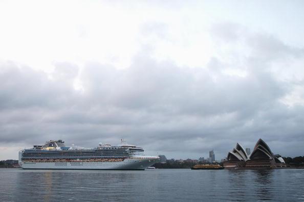 Австралийские круизные судна. Фото: Cameron Spencer/Getty Images