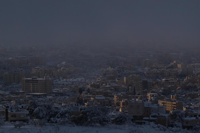 Снег в сердце Израиля. Фото: Хава Тор/Великая Эпоха (The Epoch Times)