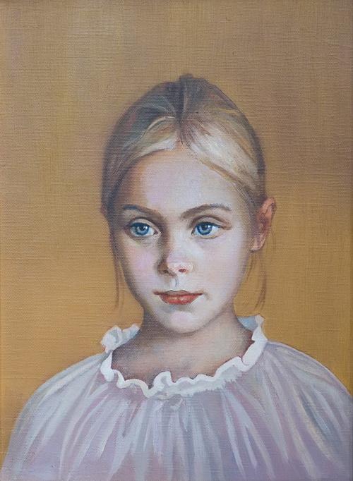 Детские портреты Александра Кравчука