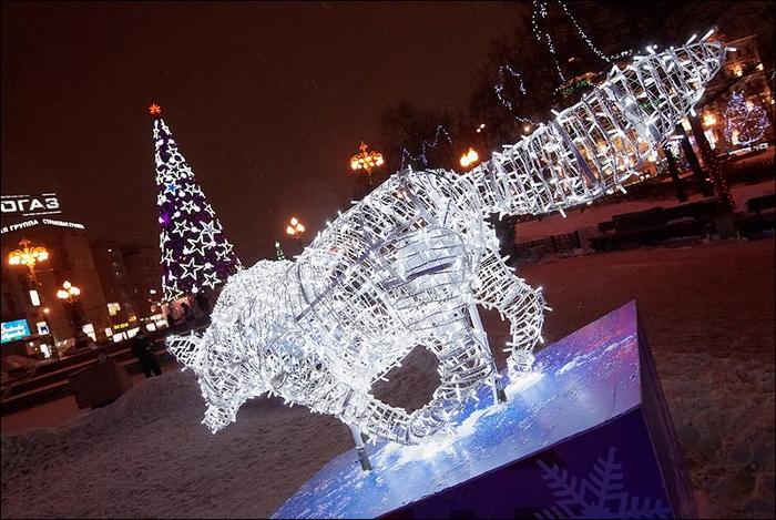 Новогодняя Москва Рауля Скрылёва