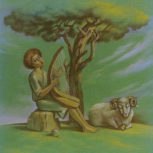 Псалом Давида, пастель
