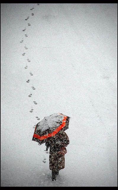 След человека. Фото:xaxor.com