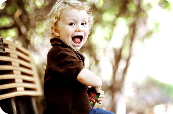 Детский смех и улыбка. Фото:Michelle Carr