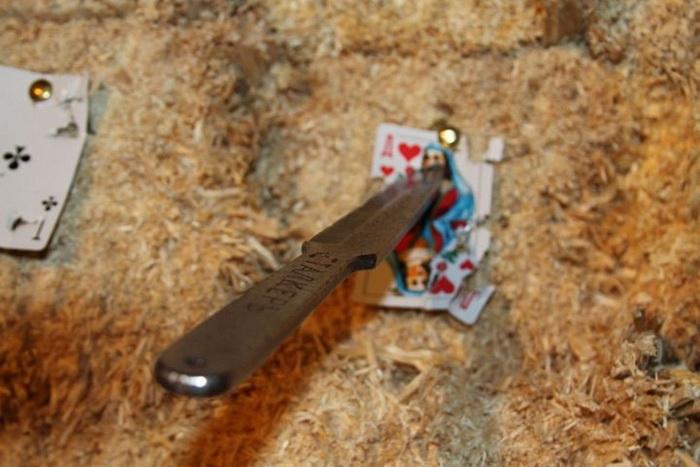 Игровое метание ножа 2011. Фото с сайта forum.guns