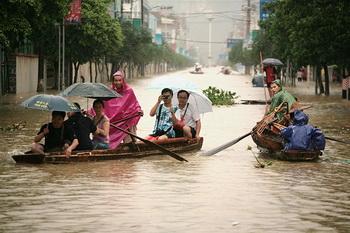 КНР: в Гуанъане из-за наводнений эвакуировано более 300 тысяч человек. Фото: fwnews.ru