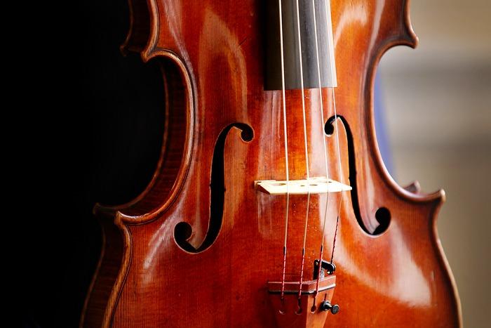 Скрипка Страдивари Archinto, изготовлена в 1696 году. Фото: Peter Macdiarmid/Getty Images