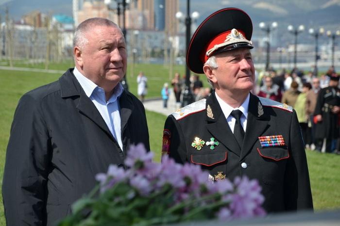 Открытие памятника в Новороссийске. Фото: Ерванд Мартиросян
