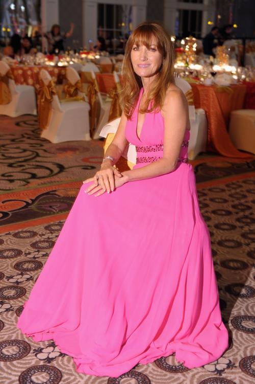 Джейн Сеймур  на праздничном вечере в преддверии 139 скачек Дерби-Кентукки 3 мая 2013 года. Фото: Michael Loccisano/Getty Images for York Sisters, LLC