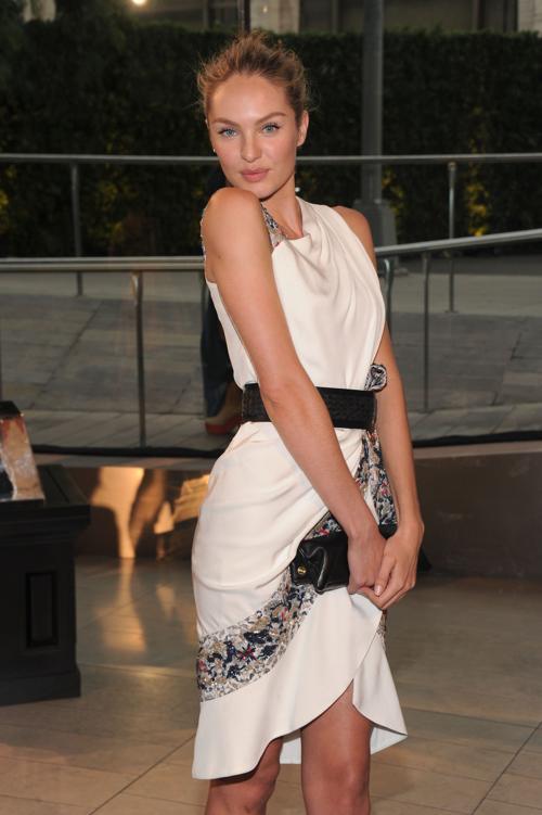Модель Кэндис на вручении Премии моды CFDA Fashion Awards 2013 в Нью-Йорке. Фото: Jamie McCarthy/Getty Images
