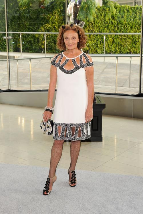 Дизайнер Диана фон Фюрстенберг на вручении Премии моды CFDA Fashion Awards 2013 в Нью-Йорке. Фото: Jamie McCarthy/Getty Images