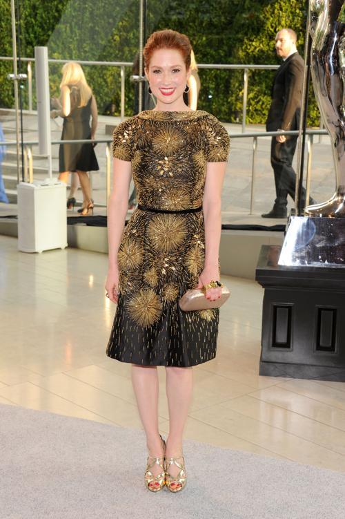 Элли Кемпер на вручении Премии моды CFDA Fashion Awards 2013 в Нью-Йорке. Фото: Jamie McCarthy/Getty Images