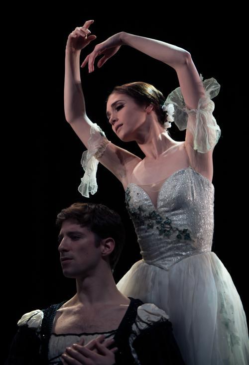 Репетиция перед конкурсом Английского национального балета 4 марта 2013 года. Фото: Ian Gavan/Getty Images