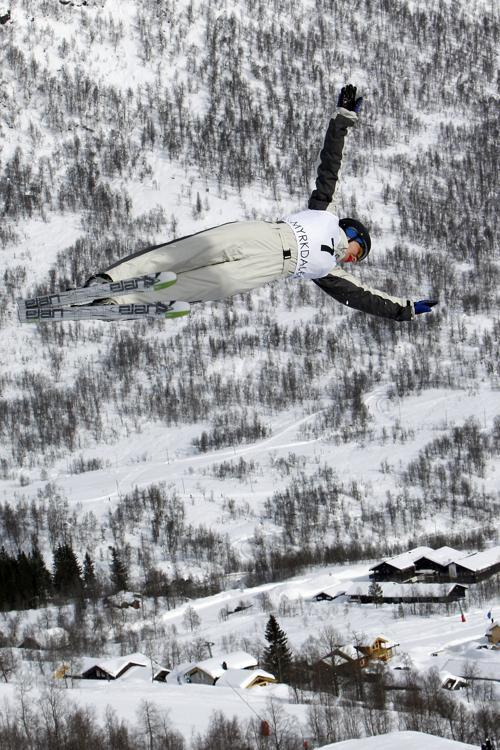 Выступление Даниэль Скотт на Чемпионате мира по фристайлу. Фото:  Alexis Boichard/Agence Zoom/Getty Images